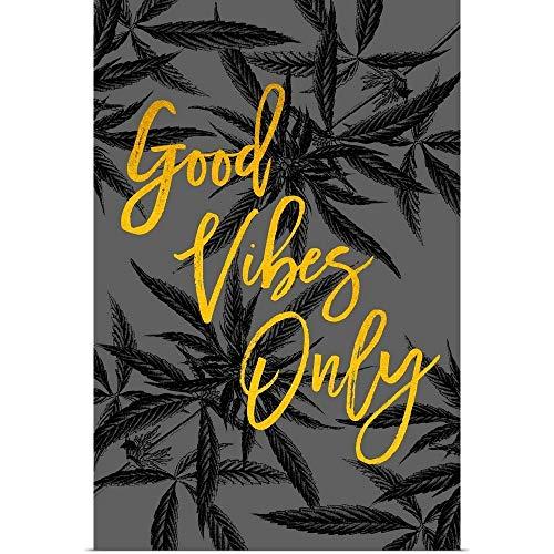 GREATBIGCANVAS Good Vibes Fine Art Poster Print