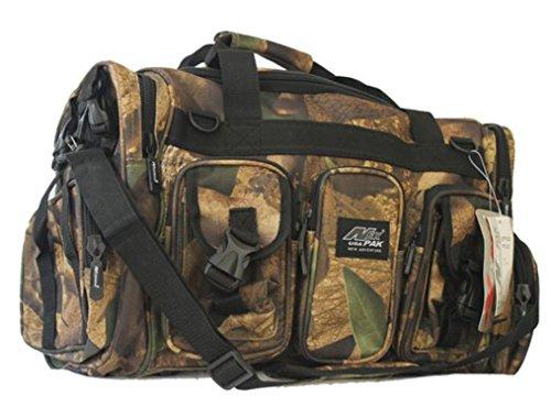 "NPUSA Mens Large 22"" Duffel Duffle Military Molle Tactical Cargo Gear Shoulder Strap Travel Bag"