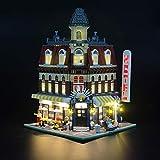 Lightailing Light Set for (Make & Create Cafe Corner) Building Blocks Model - Led Light kit Compatible with Lego 10182(NOT Included The Model)