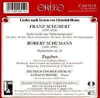 Dietrich, Fischer-Dieskau Lieder Recital, Salzburg 1956 by Schubert/Schumann (1992-07-22)