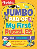 Jumbo Pad of My First Puzzles (Highlights Jumbo Books & Pads)