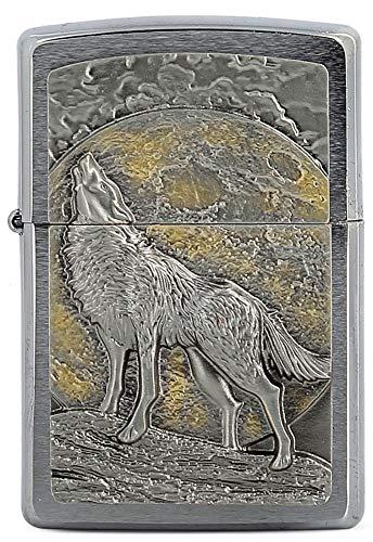 Zippo Wolf Relief