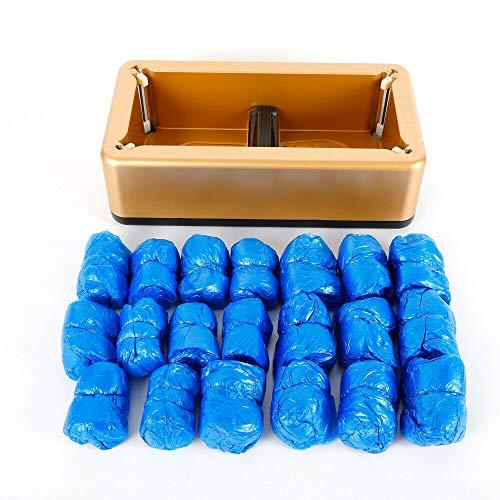 Automatische Shoe Cover Dispenser, Schuhhüllenspender Maschine, Home Hotel Schuhe Cover Schutzhüllen mit 200pcs Schuhhüllen