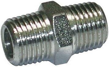 Mecafer 156106 Pijp Connector 1/4 Mannelijk 1/4 M