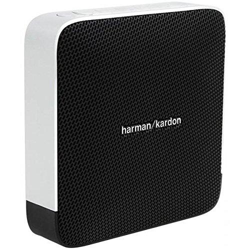 Harman/Kardon Esquire Aufladbares Tragbares Drahtloses Bluetooth und NFC Lautsprechersystem mit Freisprecheinrichtung Kompatibel mit Smartphones, Tablets und MP3 Geräten - Schwarz
