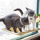 Cat Hammock Detachable Cat Hanging Bed Summer Cat Litter Hammock Swing Hanging Cat Pet Supplies Cat Lying Pad - Yellow
