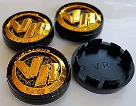 Volk-Ray New 4X Size 64 mm Caps Wheel Center Cap Hubs Cover Rim Sticker Hub Caps