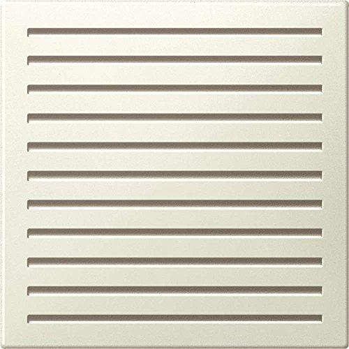 Merten MEG4450-0344 centrale plaat voor akoestische signaalgever, wit glanzend, systeem M
