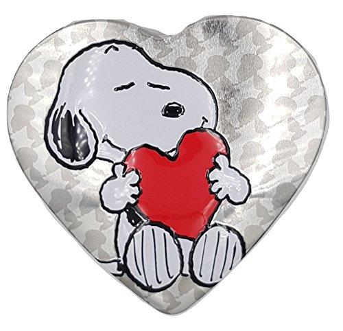 Lata Corazón Snoopy - Bombones de chocolate con leche - 100 Gr - Especial San Valentín