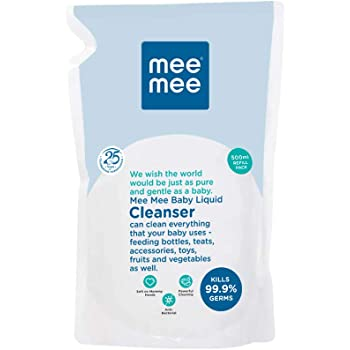 Mee Mee Anti-Bacterial Baby Liquid Cleanser (500 ml - Refill Pack)