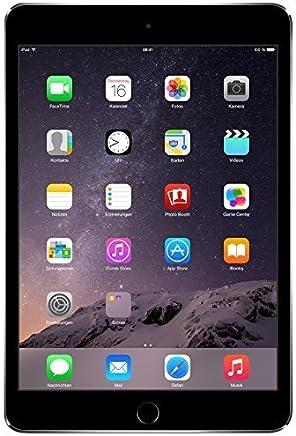 Apple iPad mini 3 MH372LL/A (64GB, Wi-Fi + Cellular, Space Gray) 2014 Model (Refurbished)
