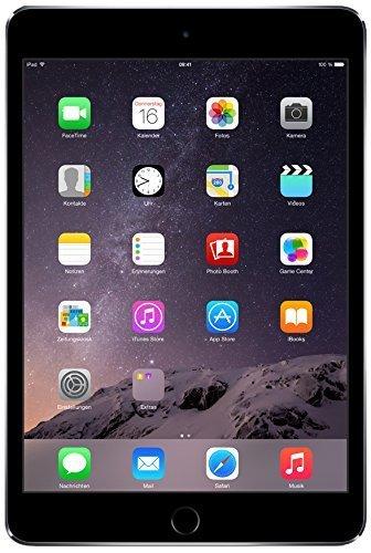 Apple iPad Mini 3 128GB Wi-Fi - Grigio Siderale (Ricondizionato)