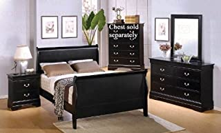 Amazon.com: Sleigh Bed - Bedroom Sets / Bedroom Furniture: Home ...