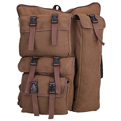 Middle 4K Canvas Drawing Board Bag, Artist Portfolio Backpack Bag Multi-functional Sketchpad Art Bag for Drawing Sketching