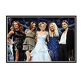 DuanWu Spice Girls Poster und Drucke Leinwand Malerei