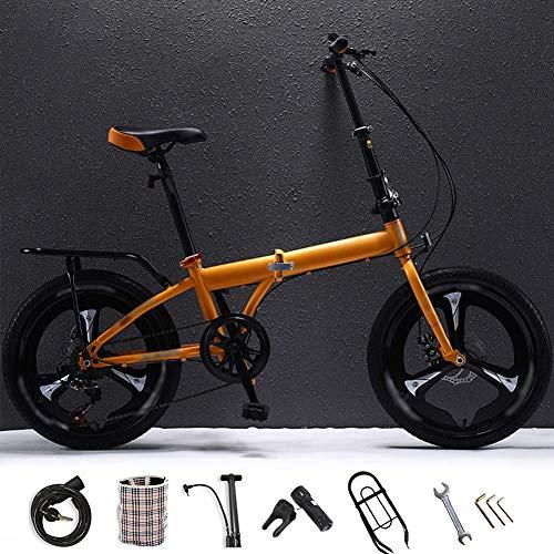 LYTLD Fahrrad Faltrad, Faltrad für Erwachsene Männer und Frauen, 20-Zoll-Anti-Rutsch-Reifen, stabile Geschwindigkeit und Smooth Glide
