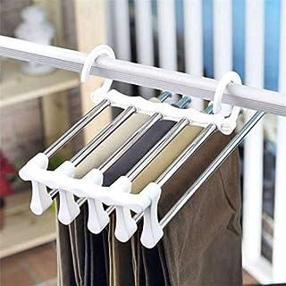 Pants Hanger Closet Organizer Non Slip Multi Layers Stainless Steel