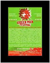 Music Ad World Green Man Festival - 2010 - Doves Flaming Lips Joanna Newsom Mini Poster - 28.5x21cm
