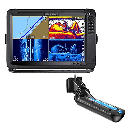 Lowrance HDS-12 Carbon no Transducer 000-13686-001 Fishfinder GPS Combo