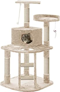 PaWz 120CM Cat Scratching Post Tree Gym House Condo Furniture Scratcher Tower