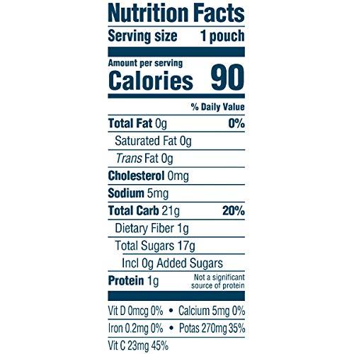 Gerber(ガーバー)オーガニックベビーフード-12食分バナナ、マンゴーピューレ離乳食,2ndFoods(セカンドフーズ)モグモグ期,パウチタイプ99g(12パック)