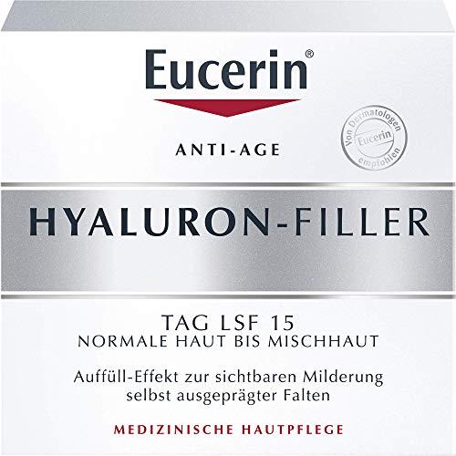 Eucerin Anti-Age Hyaluron-Filler Tag LSF 15 Creme, 50 ml Creme