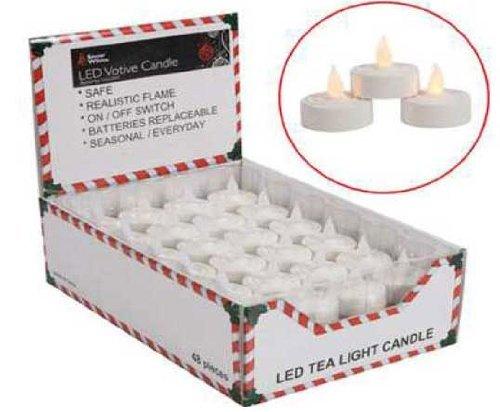 LED Flameless Tea Candle Night Light - Single