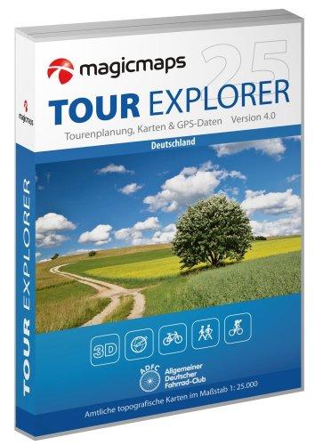 Tour Explorer 25 - Set West : Nordrhein-Westfalen/Hessen/Rheinland-Pfalz/Saarland Version 4.0 [import allemand]