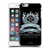 Head Case Designs Officiel Supernatural Saving People Logo Vecteurs Coque Dure pour l'arrière Compatible avec iPhone 6 Plus/iPhone 6s Plus