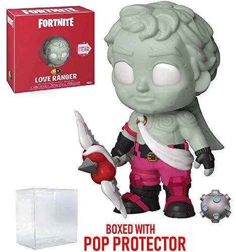 Fortnite – Figura de acción de 5 Estrellas Love Ranger Funko (Incluye Funda Protectora de Caja Pop Compatible)