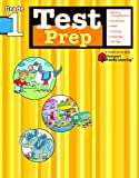 Test Prep: Grade 1 (Flash Kids Harcourt Family Learning)