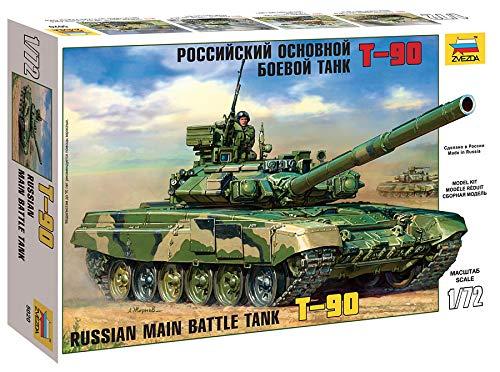 Zvezda 500785020 - 1:72 T-90, Panzer