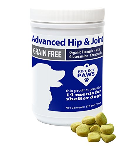 Top 10 best selling list for project paws hip and joint supplement for dogs