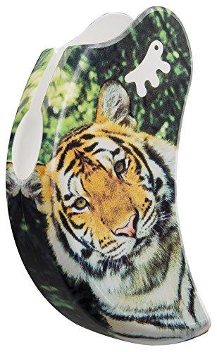 Ferplast Coque Amigo Accessoire Laisse Rétractable Décorée Tiger Taille M 11 X 3,5 X 5,9 cm