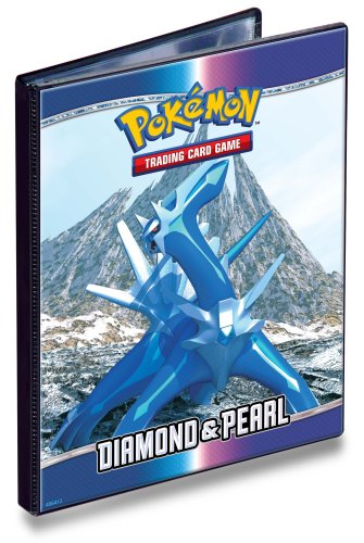 Pokemon Trading Card Supplies - 4 Pocket Page Album Diamond & Pearl - Super Hard to FIND! image