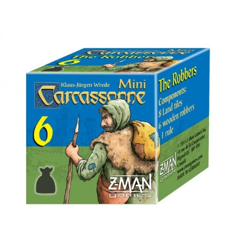 Z-Man Games Carcassonne Mini 6 The Robbers