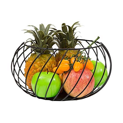 Fruitmand, hoogwaardige materialen, open design, gemakkelijk op te bergen, prachtig en mooi, voor brood en desserts in groenten en fruit, geschikt voor het kerstfeest.