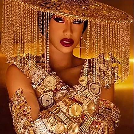 H597 New Cardi B Rolling Stone Custom Pop DJ Music Singer Star Poster Art Decor