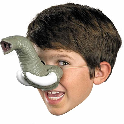 Disguise Elephant Nose Mask with Tusks