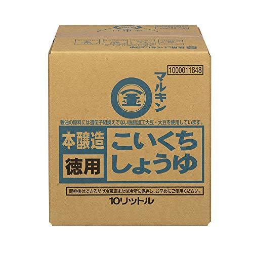 盛田 マルキン 徳用こいくちしょうゆ ダンパック 10L