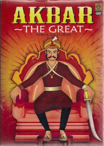 Akbar - The Great: Animated Stories (DVD/Animated/Indian History/English Film/Indian Cinema)