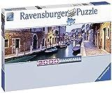 Ravensburger - Venecia de Noche, Rompecabezas panorámico de 2000 Piezas, 156 X 45 cm