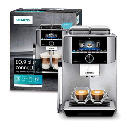 Siemens TI9575X1DE EQ.9 s700 plus connect Kaffeevollautomat (1500 Watt, vollautomatische Dampfreinigung, Baristamodus, Home Connect, sehr leise, iAroma) edelstahl - 2