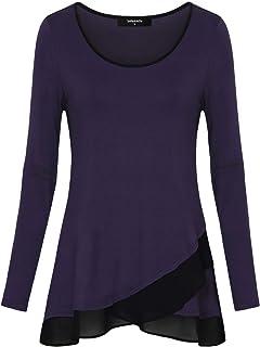 61fcf105e4aa Amazon.com: Tunics - Tops, Tees & Blouses: Clothing, Shoes & Jewelry