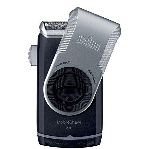 Braun M90 Braun M90 Mobile Shaver, Silver, Silver, 1