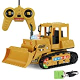 Redcolourful Kinder Fernbedienung Auto Simulation Bagger Bulldozer Kipper Wiederaufladbare Fahrzeug Spielzeug für Kinder SS111-171 -