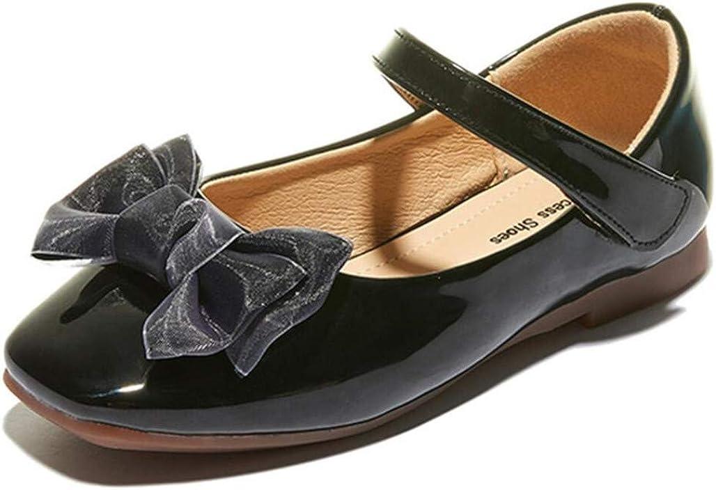 JGKDTX Girls Princess Ballet Mary Jane Flat Oxford School Dress Shoe(Toddler/Little Kid)