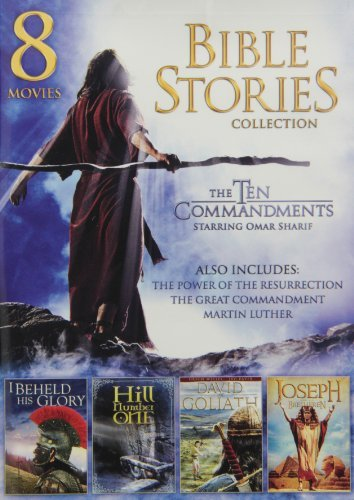 8-Movie Bible Stories Collection Max 43% OFF Sharif by Max 45% OFF Omar