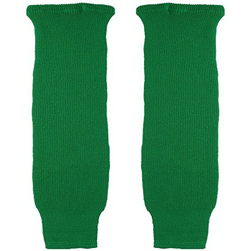 CCM S100 Hockey-Socken, einfarbig, für Kinder, Kelly Green