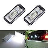 MOLEAQI 2 PCS Car LED Número de matrícula Luces 6000K Placa Bombilla para B-MW Mini R50 R52 R53 Cooper S